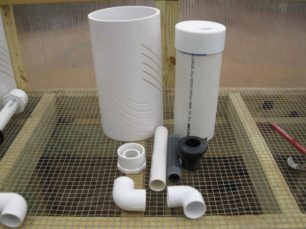 Bell Siphon Components